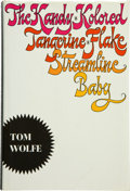 Books:Fiction, Tom Wolfe. The Kandy-Kolored Tangerine-Flake StreamlineBaby. New York: Farrar Straus and Giroux, [1965]. First ...
