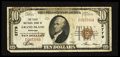 National Bank Notes:Nebraska, Grand Island, NE - $10 1929 Ty. 1 The First NB Ch. # 2779. ...