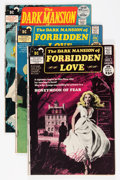 Bronze Age (1970-1979):Horror, Dark Mansion of Forbidden Love #2-4 Group - Savannah pedigree (DC,1971-72) Condition: Average VF+.... (Total: 3 Comic Books)