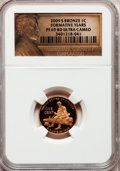 Proof Lincoln Cents, 2009-S 1C Bronze Formative Years PR69 Red Ultra Cameo NGC. NGCCensus: (11794/1671). PCGS Population (4244/272). Numismedi...