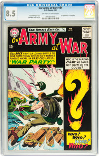 Our Army at War #151 (DC, 1965) CGC VF+ 8.5 Off-white to white pages
