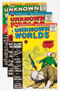 Silver Age (1956-1969):Horror, Unknown Worlds Group (ACG, 1960-63) Condition: Average VG....(Total: 9 Comic Books)