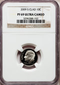 Proof Roosevelt Dimes, 2009-S 10C Clad PR69 Ultra Cameo NGC. PCGS Population (1000/370).Numismedia Wsl. Price for problem fre...