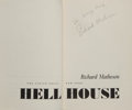 Books:Horror & Supernatural, Richard Matheson. Hell House. New York: Viking, [1971].First edition, first printing. Signed and inscribed by...