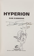 Books:Science Fiction & Fantasy, Dan Simmons. Hyperion. New York: Doubleday, [1989]. First edition, first printing. Signed by Simmons on title ...