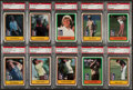 Golf Cards:General, 1981 Donruss Golf Collection (42) - Each Graded PSA NM-MT 8. ...
