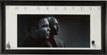 Miscellaneous Collectibles:General, Muhammad Ali and Michael Jordan Unsigned Print. ...
