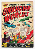 Golden Age (1938-1955):Science Fiction, Journey Into Unknown Worlds #36 (#1) (Atlas, 1950) Condition:GD/VG....