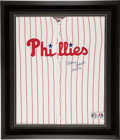 Baseball Collectibles:Uniforms, Robin Roberts Signed Philadelphia Phillies Jersey....