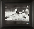 Baseball Collectibles:Photos, Willie Mays Signed Oversized Photograph. ...