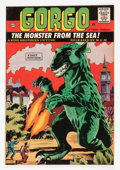 Silver Age (1956-1969):Horror, Gorgo #1 (Charlton, 1961) Condition: VF+....
