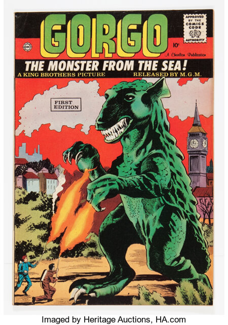 Gorgo #1 (Charlton, 1961) Condition: VF+....