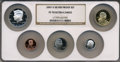 Proof Sets, 2007-S SET Silver Proof Set PR70 Ultra Cameo NGC. This set includes: Lincoln Cent, Monticello ... (Total: 5 coins)