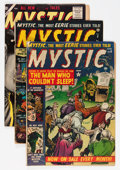 Golden Age (1938-1955):Horror, Mystic Group (Atlas, 1951-57) Condition: Average VG.... (Total: 4Comic Books)