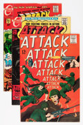 Bronze Age (1970-1979):War, Attack Group (Charlton, 1963-76) Condition: Average VF+.... (Total: 35 Comic Books)