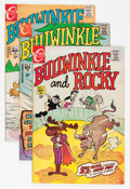 Bronze Age (1970-1979):Cartoon Character, Bullwinkle and Rocky Group (Charlton, 1970-71) Condition: AverageVF.... (Total: 5 Comic Books)