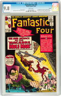 Fantastic Four #31 Curator pedigree (Marvel, 1964) CGC NM/MT 9.8 White pages
