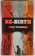 Books:Science Fiction & Fantasy, [Jerry Weist]. John Wyndham. Re-Birth. New York: BallantineBooks, 1955. First edition. Octavo. 185 pages. Publi...