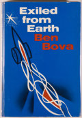 Books:Science Fiction & Fantasy, [Jerry Weist]. Ben Bova. Exiled From Earth. New York: E. P.Dutton, 1971. First edition. Octavo. 202 pages. Publ...