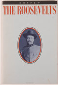"Books:Pamphlets & Tracts, [Roosevelts] Hopper Papers. Hopper Papers Marketing PortfolioFeaturing a Brief History of the Roosevelts. 6"" x 9"". A clever..."