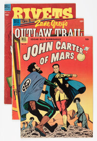 Four Color Group (Dell, 1952-72) Condition: Average VG.... (Total: 35 Comic Books)