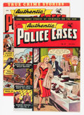 Golden Age (1938-1955):Crime, Authentic Police Cases #19 and 20 Group (St. John, 1952).... (Total: 2 Comic Books)