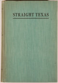 Books:Americana & American History, J. Frank Dobie and Mody C. Boatright, editors. StraightTexas. Austin: Steck for the Texas Folk-Lore Society, 19...