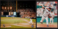 Baseball Collectibles:Photos, Cal Ripken Jr. and Roger Clemens Signed Photographs Lot of 2....