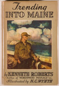 Books:Americana & American History, Kenneth Roberts. Trending Into Maine. Boston: Little, Brown,1938. First trade edition. Large octavo. 394 pages....