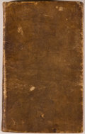 Books:Literature Pre-1900, John Milton. Paradise Lost, A Poem in Twelve Books. Boston:T. Bedlington, 1826 on engraved title page (1825 on ...