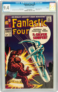 Silver Age (1956-1969):Superhero, Fantastic Four #55 Curator pedigree (Marvel, 1966) CGC NM 9.4 Off-white to white pages....