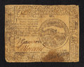 Colonial Notes:Continental Congress Issues, Continental Currency July 22, 1776 $4 Fine.. ...