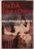 Books:Mystery & Detective Fiction, Erle Stanley Gardner. The D.A. Takes a Chance. London:William Heinemann, [1956]. First UK edition. Octavo. 244 ...