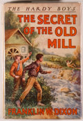 Books:Children's Books, Franklin W. Dixon. Two Hardy Boys Books, including: The House onthe Cliff. [1927] [and:] The Secret of the Old ... (Total: 2Items)