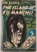 Books:Mystery & Detective Fiction, Sax Rohmer. The Island of Fu Manchu. New York: Published forthe Crime Club by Doubleday, Doran and Co., 1941. F...