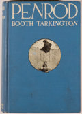 """Books:Children's Books, Booth Tarkington. Penrod. Garden City: Doubleday, Page,1914. First edition, later issue, with """"sense"""" on page 1..."""