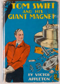Books:Children's Books, Victor Appleton. Tom Swift and His Giant Magnet. Racine:Whitman Publishing, [1932]. Octavo. 216 pages. Publishe...