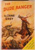 """Books:Fiction, Zane Grey. The Dude Ranger. New York: Harper & Brothers,[n.d., but """"F-A"""" on copyright page denoting 1951]. Stat..."""