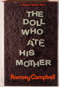 Books:Horror & Supernatural, Ramsey Campbell. The Doll Who Ate His Mother. Indianapolis:Bobbs-Merrill, [1976]. First edition, first printing. Oc...