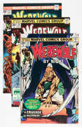 Bronze Age (1970-1979):Horror, Werewolf by Night Group (Marvel, 1975-77) Condition: AverageVF+.... (Total: 8 Items)