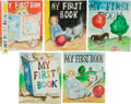 Art:Illustration Art - Mainstream, Garth Williams. Five Original Watercolor Paintings for Unused CoverArt for Baby's First Book, 1955. Five sheets... (Total: 6Items)