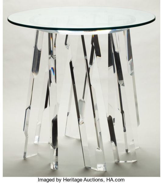 A Lucite And Gl Multi Leg Table Late 20th Century 29
