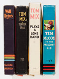 Big Little Book:Miscellaneous, Big Little Book Western Group (Whitman, 1930s) Condition: AverageVF.... (Total: 4 Comic Books)