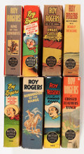 Big Little Book:Miscellaneous, Big Little Book Roy Rogers Group (Whitman, 1930s) Condition:Average VF.... (Total: 8 Comic Books)