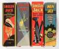 Big Little Book:Miscellaneous, Big Little Book Smilin' Jack Group (Whitman, 1930s) Condition:Average VF-.... (Total: 4 Comic Books)