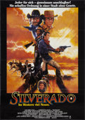 "Movie Posters:Western, Silverado (Columbia, 1985). German A1 (23.5"" X 33""). Western.. ..."