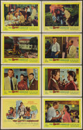 """Movie Posters:Thriller, The Quiet American (United Artists, 1958). Lobby Card Set of 8 (11"""" X 14""""). Thriller.. ... (Total: 8 Items)"""