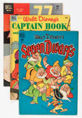 Golden Age (1938-1955):Miscellaneous, Four Color Group (Dell, 1949-62) Condition: Average VG+.... (Total: 13 Comic Books)