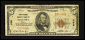 National Bank Notes:Maine, Augusta, ME - $5 1929 Ty. 1 First National Granite Bank Ch. # 498....