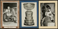 Hockey Cards:Lots, 1930's-1960's Bee Hive Photos Hockey Trio (3) With Two Broda andScarce Stanley Cup. ...